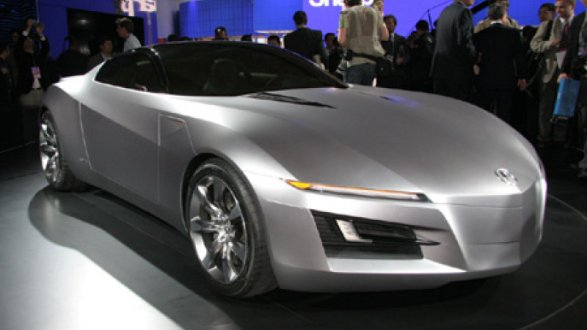 acura debuts the advanced sports car concept at naias. Black Bedroom Furniture Sets. Home Design Ideas